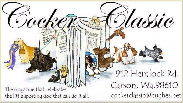 Cocker Classic Magazine